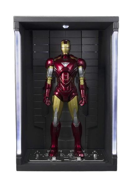 Akihabaratoys Figura Articulada PACK S.H. FIGUARTS IRON MAN MARK VI HALL OF ARMOR & BLACK WIDOW