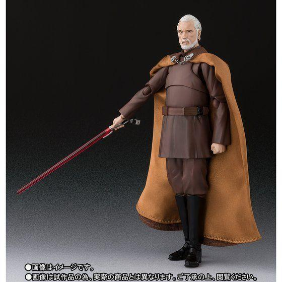 Akihabaratoys Figura Articulada S.H. Figuarts Star Wars Episode 3: Revenge Of The Sith - Count Dooku TamashiWeb Exclusive - Preventa
