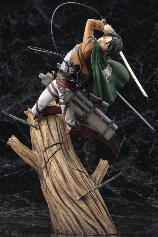 Akihabaratoys Figura Estatica ARTFX J Attack On Titan - Levi (Renewal Package Version) - Preventa