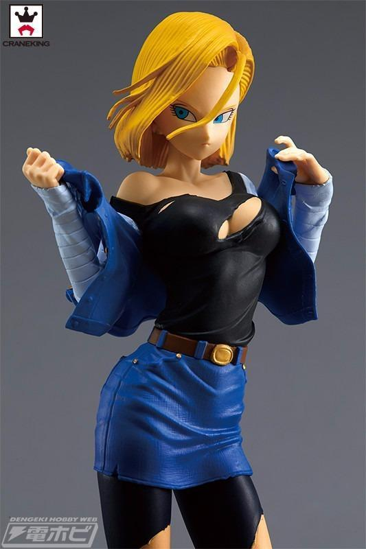 Akihabaratoys Figura Estatica Banpresto Dragon Ball Z GLITTER & GLAMOURS ANDROID NO.18 Normal Color
