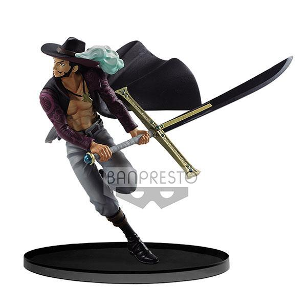 Akihabaratoys Figura Estatica BANPRESTO WORLD FIGURE COLOSSEUM vol.3 Dracule Mihawk