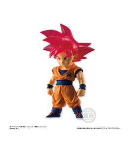 Akihabaratoys Figura Estatica Candy Toy Dragon Ball Adverge 2 SP - Goku Super Saiyan God - Preventa