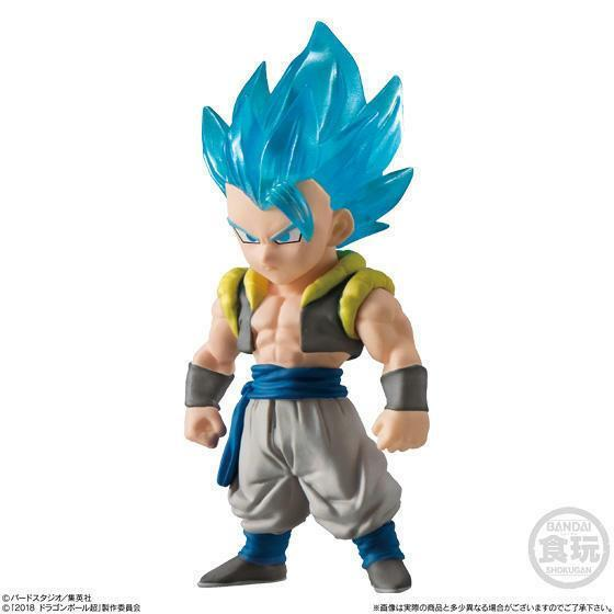 Akihabaratoys Figura Estatica Candy Toy Dragon Ball Adverge 9 - Gogeta Super Saiyan Blue - Preventa