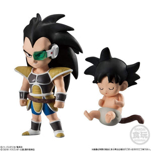 Akihabaratoys Figura Estatica Candy Toy Dragon Ball Adverge 9 - Raditz - Preventa