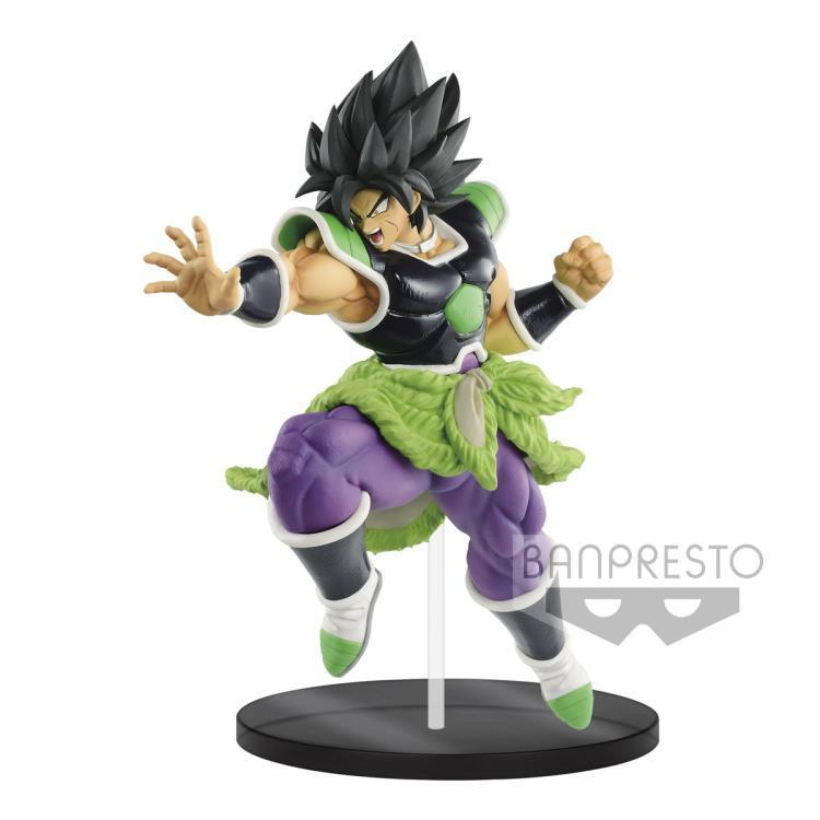 Akihabaratoys Figura Estatica Default Title PREVENTA Banpresto Dragon Ball Super the Movie Ultimate Soldiers Vol. 1 Broly (Rage Mode)