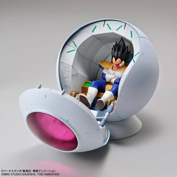 Akihabaratoys Figura Estatica Dragon Ball Figure-rise Mechanics - Saiyan Space Pod Plastic Kit (Reissue) - Preventa
