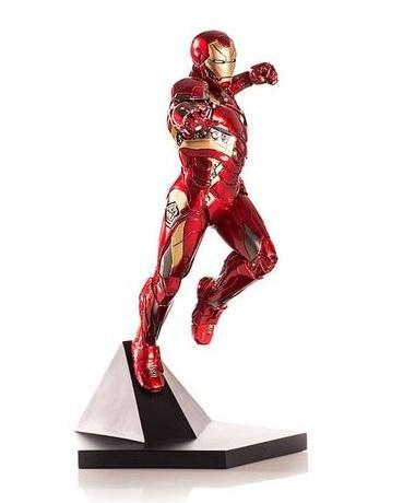 Akihabaratoys Figura Estatica IRON STUDIOS AVENGERS: CIVIL WAR IRON MAN MARK 46 ESCALA 1/10
