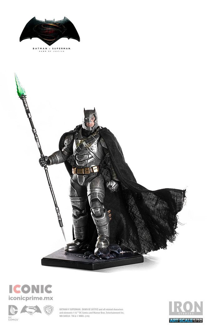 Akihabaratoys Figura Estatica Iron Studios BATMAN ARMORED BATTLE DAMAGED ART SCALE 1/10