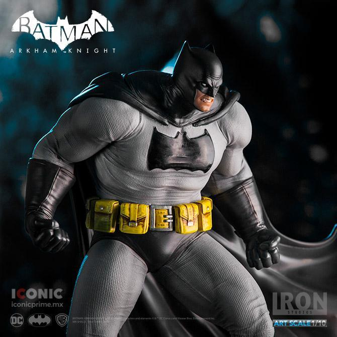 Akihabaratoys Figura Estatica Iron Studios BATMAN DARK KNIGHT DLC SERIES ART SCALE 1/10