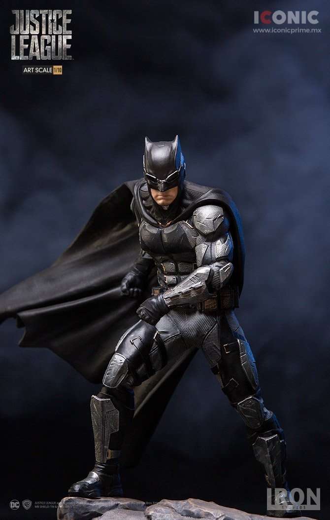 Akihabaratoys Figura Estatica IRON STUDIOS - BATMAN - JUSTICE LEAGUE 1/10 SCALE