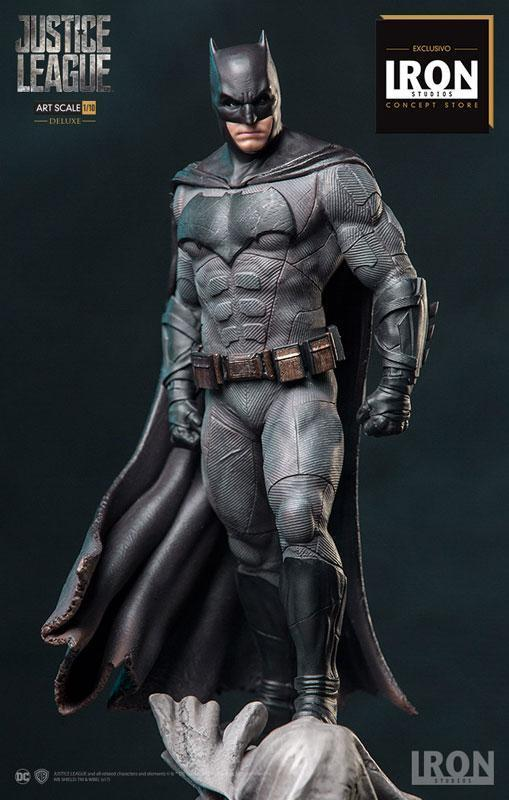 Akihabaratoys Figura Estatica IRON STUDIOS - BATMAN JUSTICE LEAGUE JLA DELUXE VERSION 1/10 SCALE