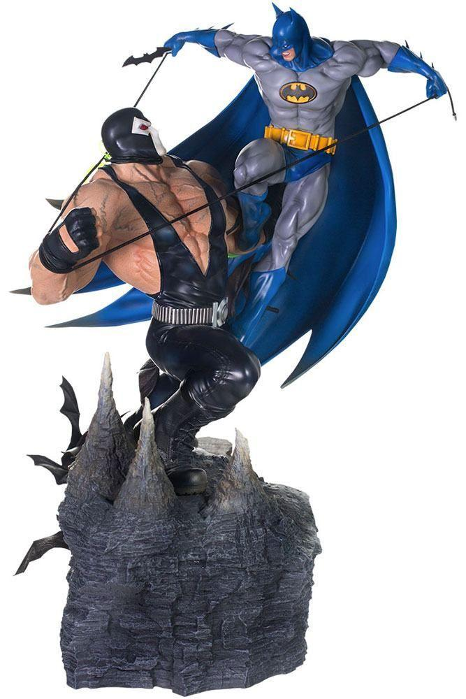 Akihabaratoys Figura Estatica IRON STUDIOS BATMAN VS BANE BY IVAN REIS 1/6 BATTLE DIORAMA