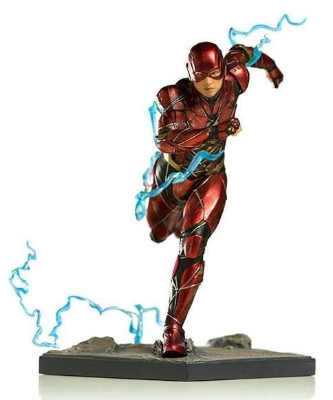 Akihabaratoys Figura Estatica IRON STUDIOS JUSTICE LEAGUE - THE FLASH 1/10 SCALE