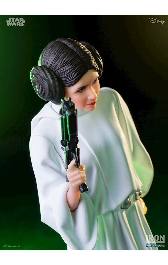 Akihabaratoys Figura Estatica IRON STUDIOS PRINCESS LEIA ART SCALE 1/10 STAR WARS SERIE 1