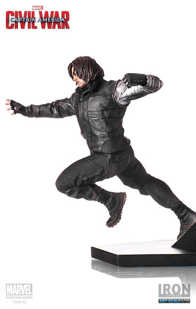 Akihabaratoys Figura Estatica Iron Studios WINTER SOLDIER ART SCALE 1/10 CIVIL WAR