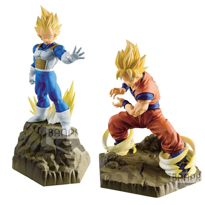 Akihabaratoys Figura Estatica PACK GOKU & VEGETA ABSOLUTE PERFECTION