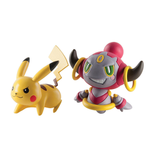 Akihabaratoys Figura Estatica TOMY POKEMON FIGURE BASIC PIKACHU VS HOOPA