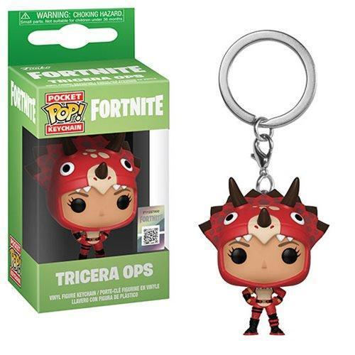 Akihabaratoys FUNKO Default Title PREVENTA Funko Pocket Pop Games Fortnite - Tricera Ops Llavero