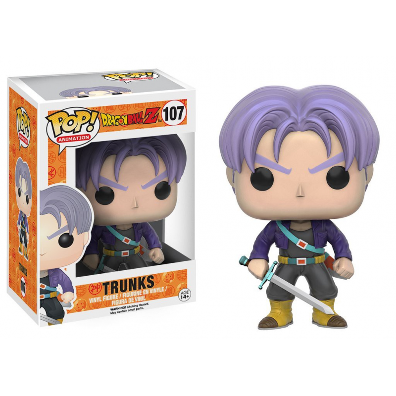 Akihabaratoys FUNKO FUNKO POP ANIME DRAGONBALL Z - TRUNKS