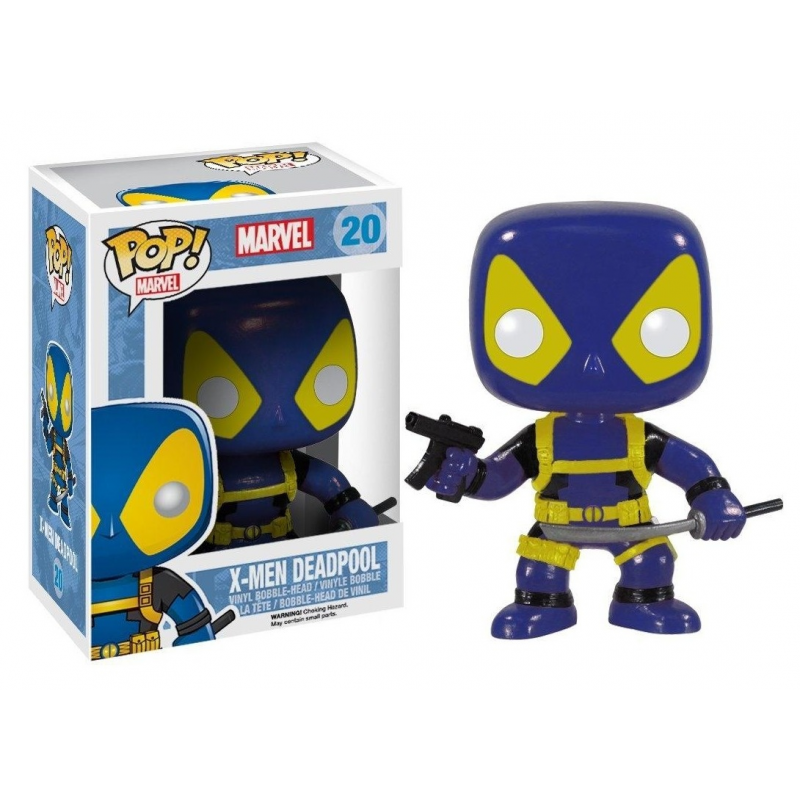 Akihabaratoys FUNKO FUNKO POP MARVEL X-MEN - DEADPOOL (BLUE)