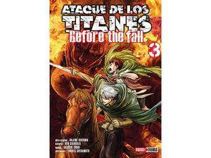 Akihabaratoys Manga & Comics MANGA ATAQUE DE LOS TITANES BEFORE THE FALL #3