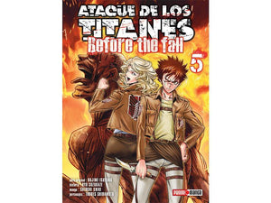 Akihabaratoys Manga & Comics MANGA ATAQUE DE LOS TITANES BEFORE THE FALL #5