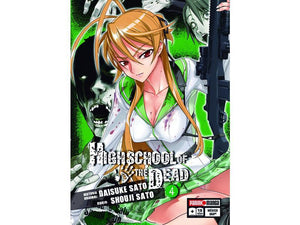 Akihabaratoys Manga & Comics MANGA HIGH SCHOOL OF THE DEAD #4