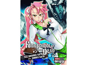 Akihabaratoys Manga & Comics MANGA HIGH SCHOOL OF THE DEAD #6