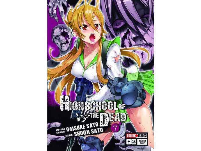 Akihabaratoys Manga & Comics MANGA HIGH SCHOOL OF THE DEAD #7