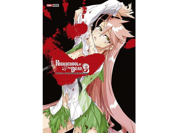 Akihabaratoys Manga & Comics MANGA HIGH SCHOOL OF THE DEAD FULL COLOR 3