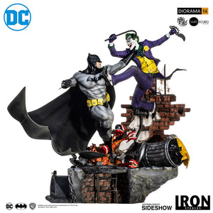 Sideshow Dc Comics Sixth Scale Diorama - Batman vs The Joker - preventa