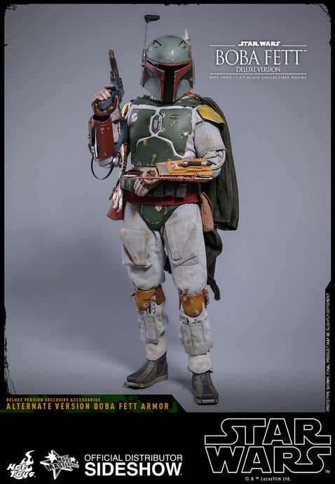 Sideshow Star Wars Hot Toys - Boba Fett Deluxe Version - preventa