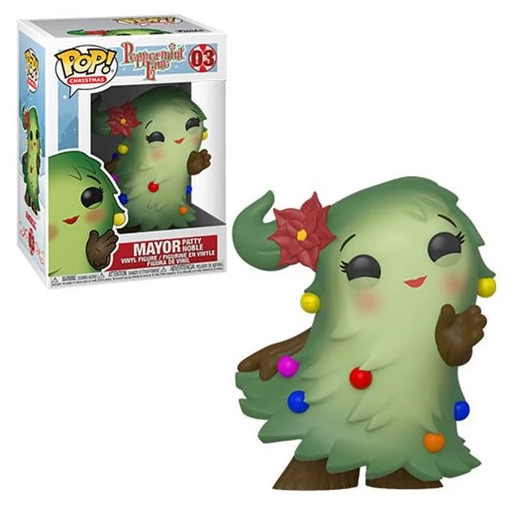 Funko Pop Holiday: Alcalde Patty Noble - Navidad - Preventa