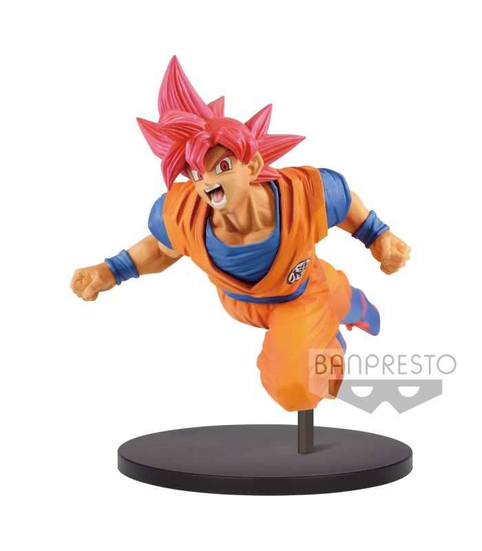 Banpresto Dragon Ball Super Son Goku Fes!! Super Saiyan God Goku Vol.9 Preventa