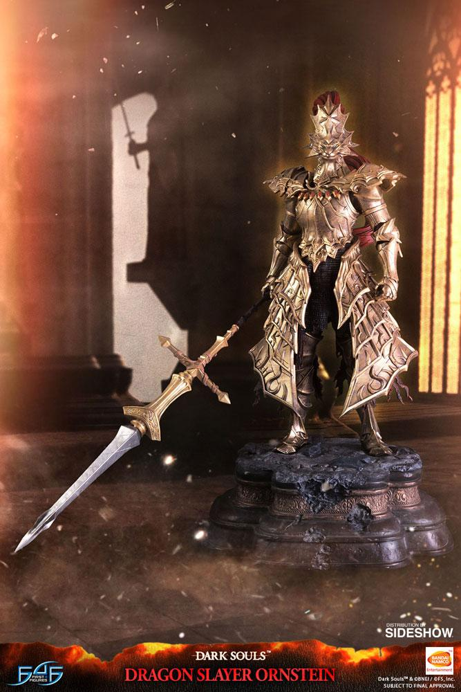 First 4 Figures Dragon Slayer Ornstein Statue Preventa