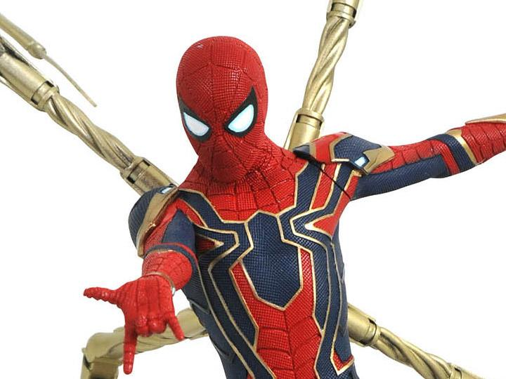 Diamond Select Marvel Premier Collection Avengers: Infinity War Iron Spider-Man Preventa