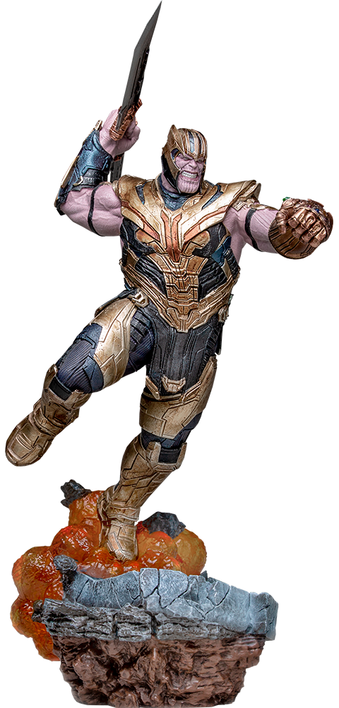 Iron Studios - Thanos (Deluxe Version) Avengers: Endgame - Art Scale 1:10 Battle Diorama Series Preventa