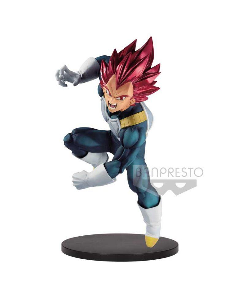 Banpresto Dragon Ball Super Blood of Saiyans Super Saiyan God Vegeta Special VII Statue - Preventa