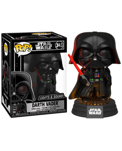 Funko Pop Movies: Star Wars - Dart Vader Electronico - preventa