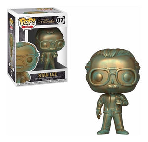 Funko Pop Icons: Stan lee (patina) - Preventa