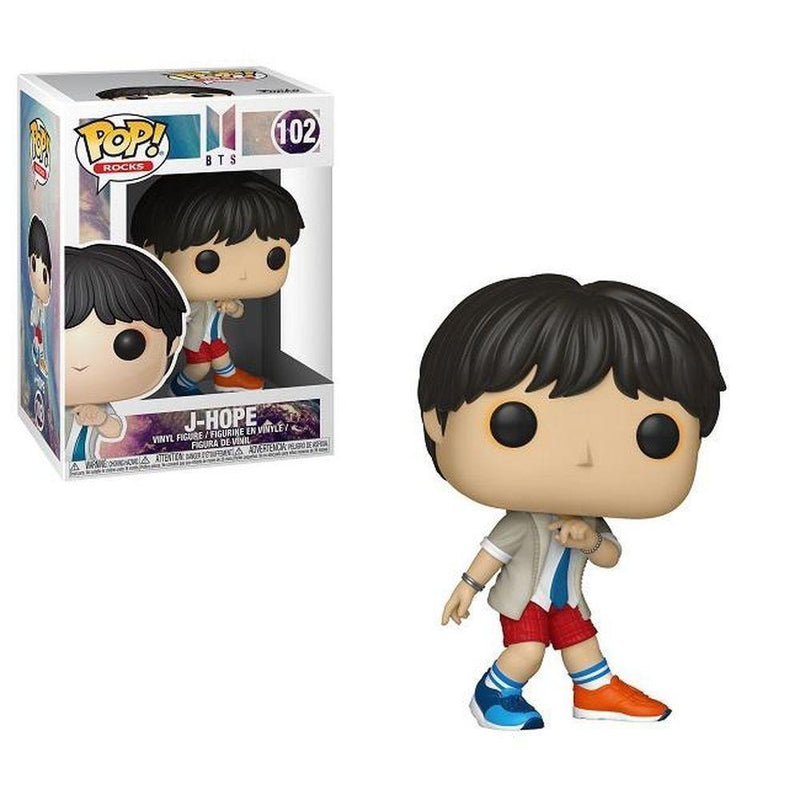 Funko Pop Rocks: BTS - J-Hope - Preventa