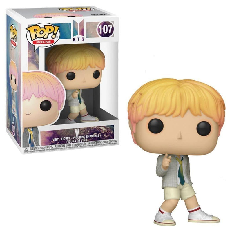 Funko Pop Rocks: BTS - V - Preventa