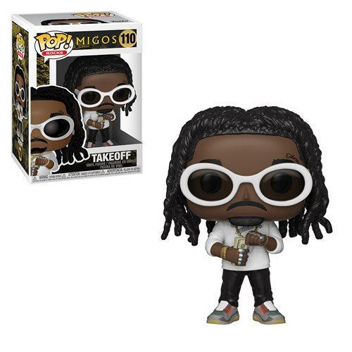 Funko Pop Rocks: Migos - Takeoff - Preventa