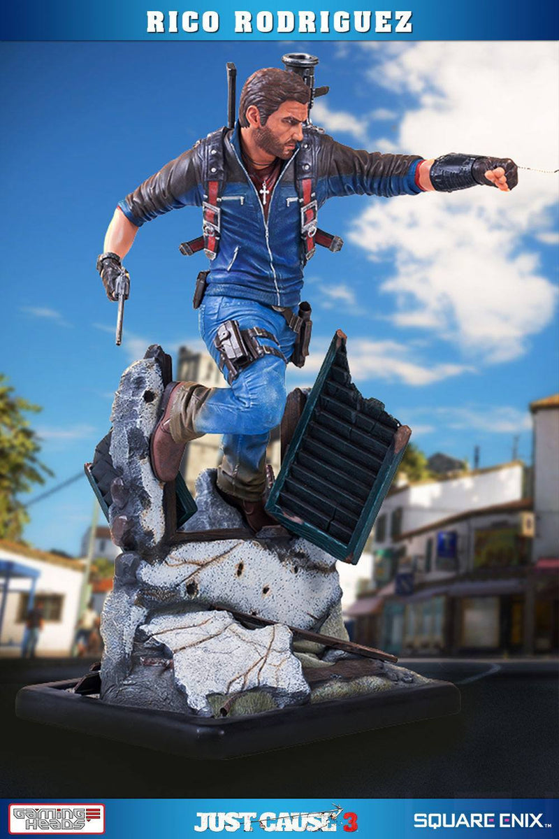 Gaming Heads Just Cause 3 Rico Rodriguez - Preventa