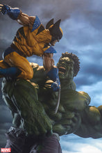 Sideshow Maquette - Hulk and Wolverine Preventa