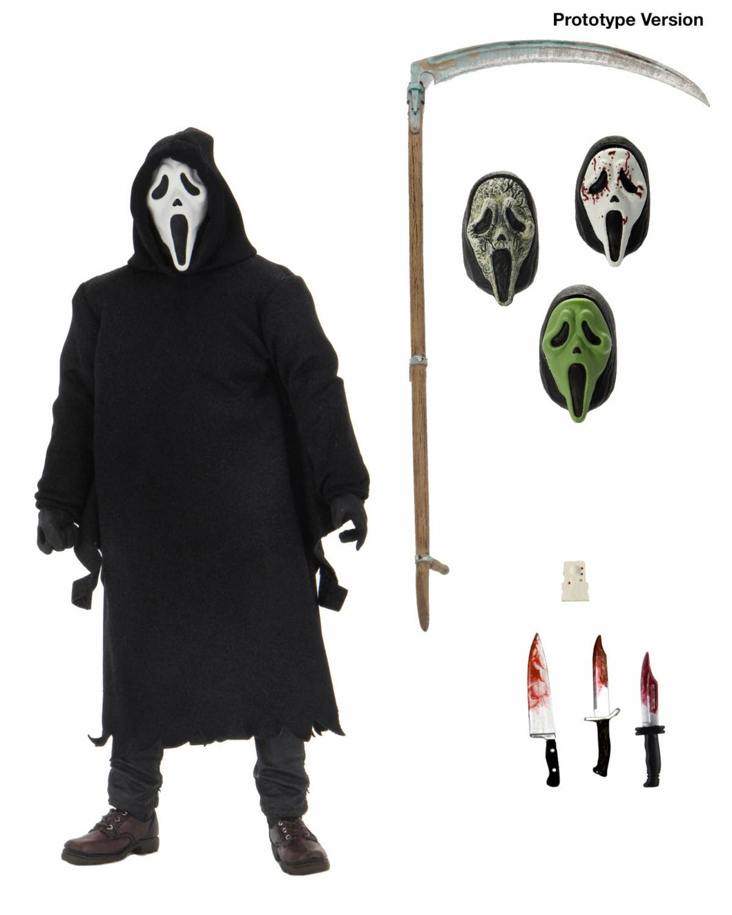 NECA Ultimate: Scream - Ghostface Cara Fantasma Preventa