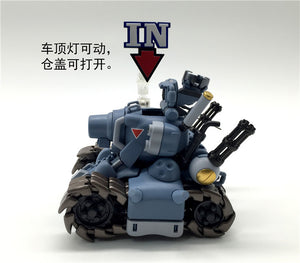 Model Kit Tanque de Metal Slug