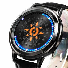 Reloj LED Digimon Adventure Emblema de Valor