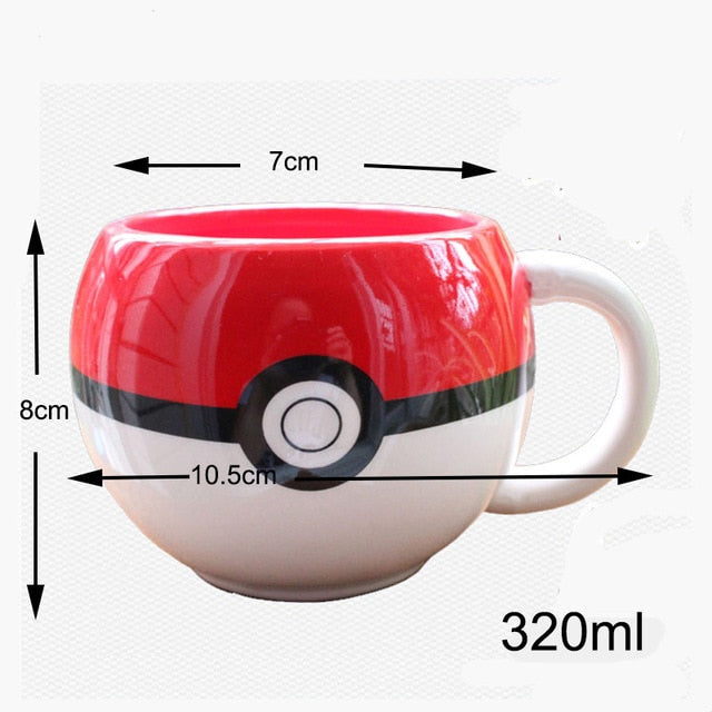 Taza Pokemon 320ml Pokebola