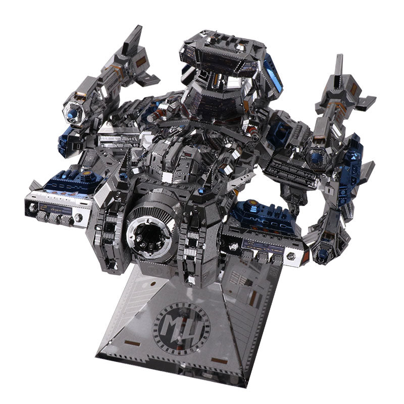 MU 3D Metal Model Kit StarCraft - BattleCruise